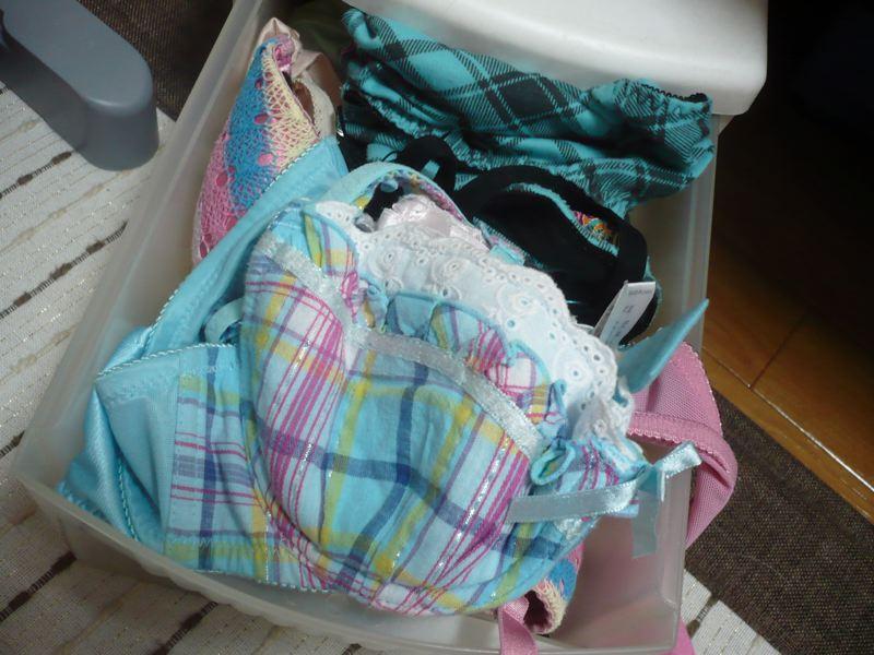 姉妹タンスの中洗濯済み下着盗撮流出エロ画像2枚目