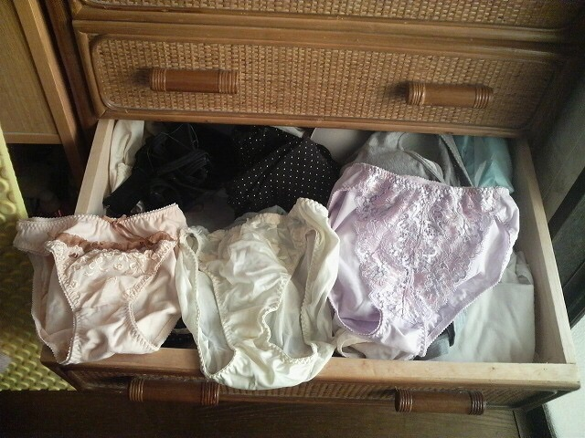 姉妹タンスの中洗濯済み下着盗撮流出エロ画像12枚目