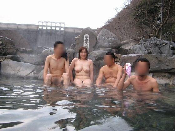 温泉スーパーピンクコンパニオン盗撮エロ画像10枚目