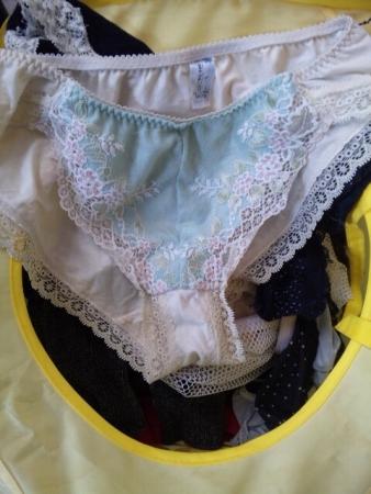 洗濯機の中のピンクサテン姉の下着盗撮エロ画像16枚目