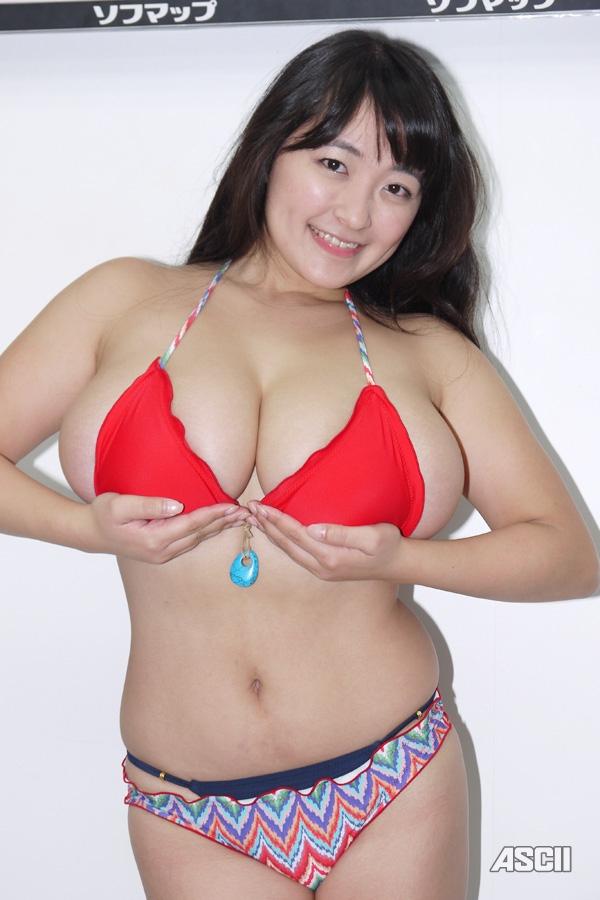 ソフマップのデブグラビアアイドル柳瀬早紀のエロ画像6枚目