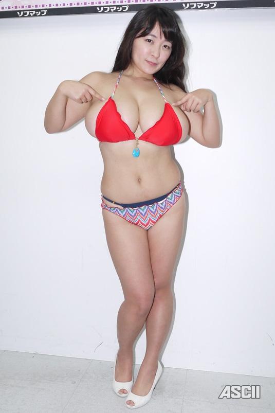 ソフマップのデブグラビアアイドル柳瀬早紀のエロ画像7枚目