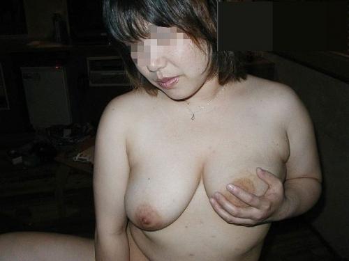 ドMな爆乳熟女をラブホで調教ハメ撮りエロ画像4枚目