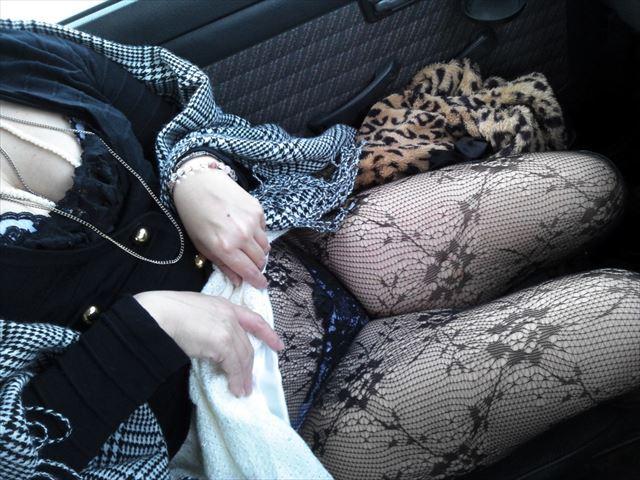 若妻温泉不倫旅行中のパンスト熟女エロ画像10枚目