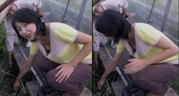 芸能人や女子アナの乳首ポロリハプニング盗撮エロ画像8枚目