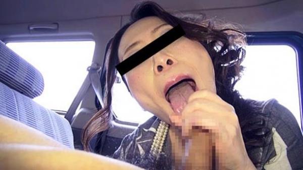 超熟女人妻のフェラオナ豆デカ乳首エロ画像流出14枚目