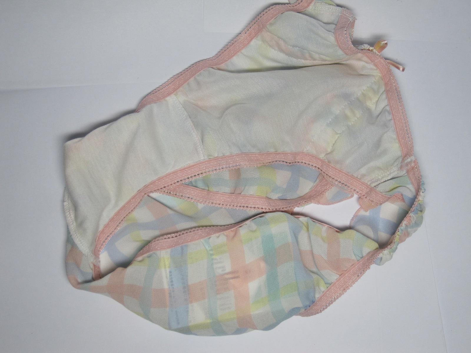 妹パンティー クロッチ 妹の汚れたお漏らしクロッチ下着に自慰射精エロ画像|エロの境界線