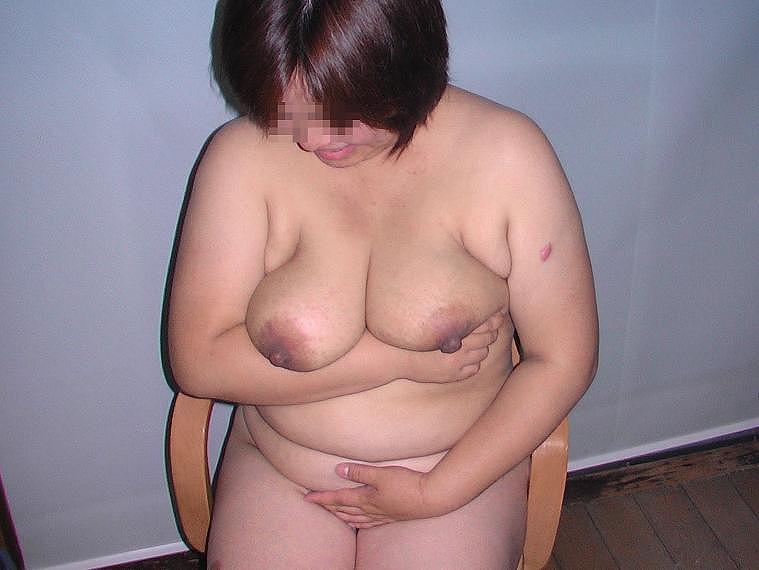 爆乳デブ熟女の雌豚肉便器調教不倫エロ画像14枚目