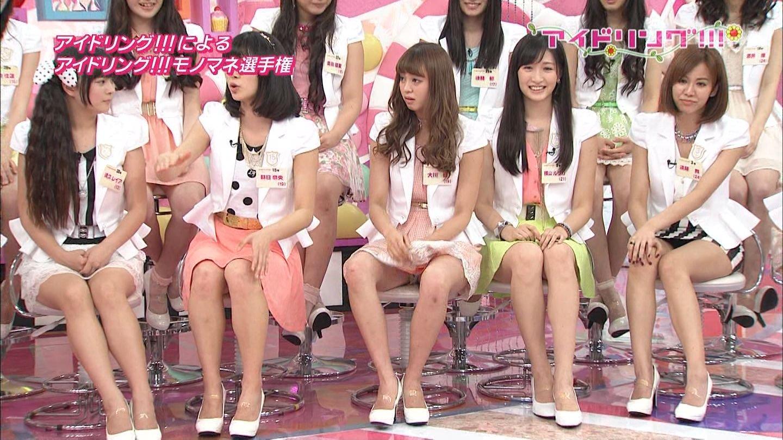 AKBパンチラとまん肉大島優子ポロリお宝エロ画像15枚目
