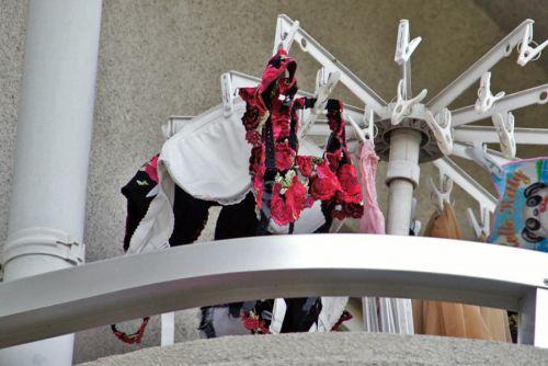 女子大生の女子寮ベランダの下着盗撮の様子エロ画像10枚目