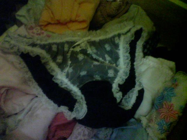 タンスの中の姉の下着でオナニーする弟エロ画像15枚目
