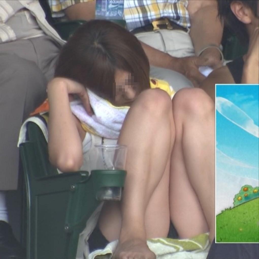 甲子園jkチアガール下着を逆さ盗撮するオマイラ画像15枚目