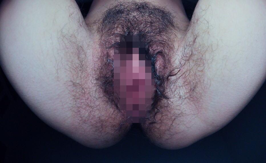 美巨乳色白セフレのまん毛ボーボー剛毛グロマンエロ画像14枚目