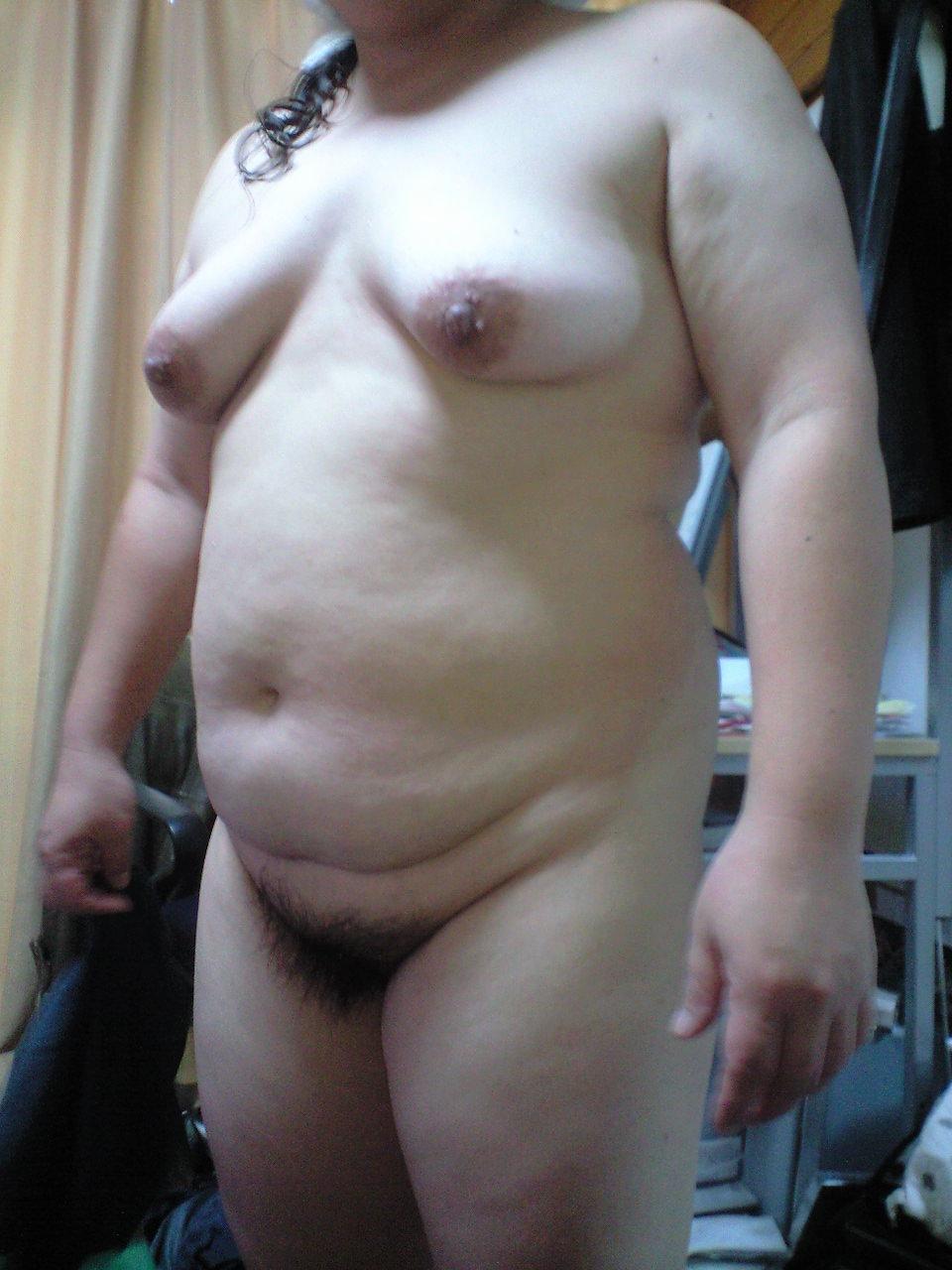 デブス貧乳で剛毛な素人セフレハメ撮り流出エロ画像1枚目
