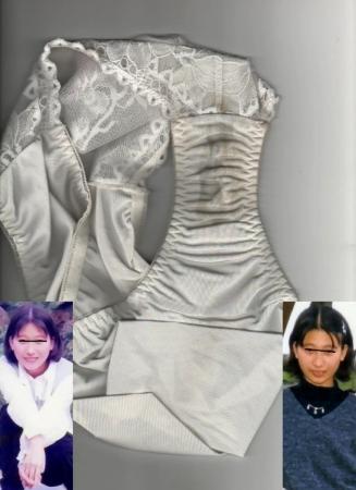 顔出しjk妹のクロッチシミ付きロリパンツ盗撮エロ画像1枚目