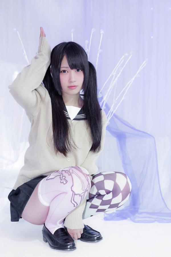 エロコスプレ母乳レイヤー御伽ねこむのハロウィンエロ画像2枚目