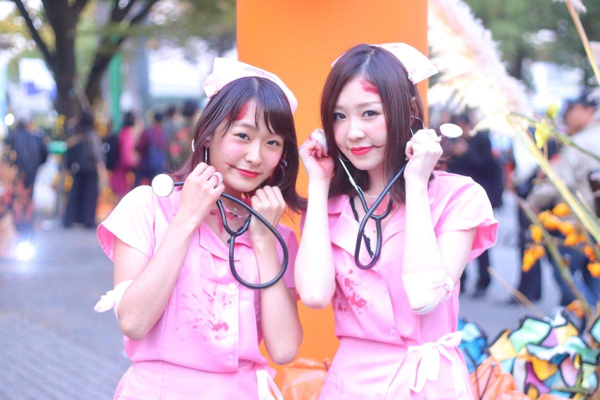 渋谷ハロウィンjk胸チラエロコス流出エロ画像14枚目