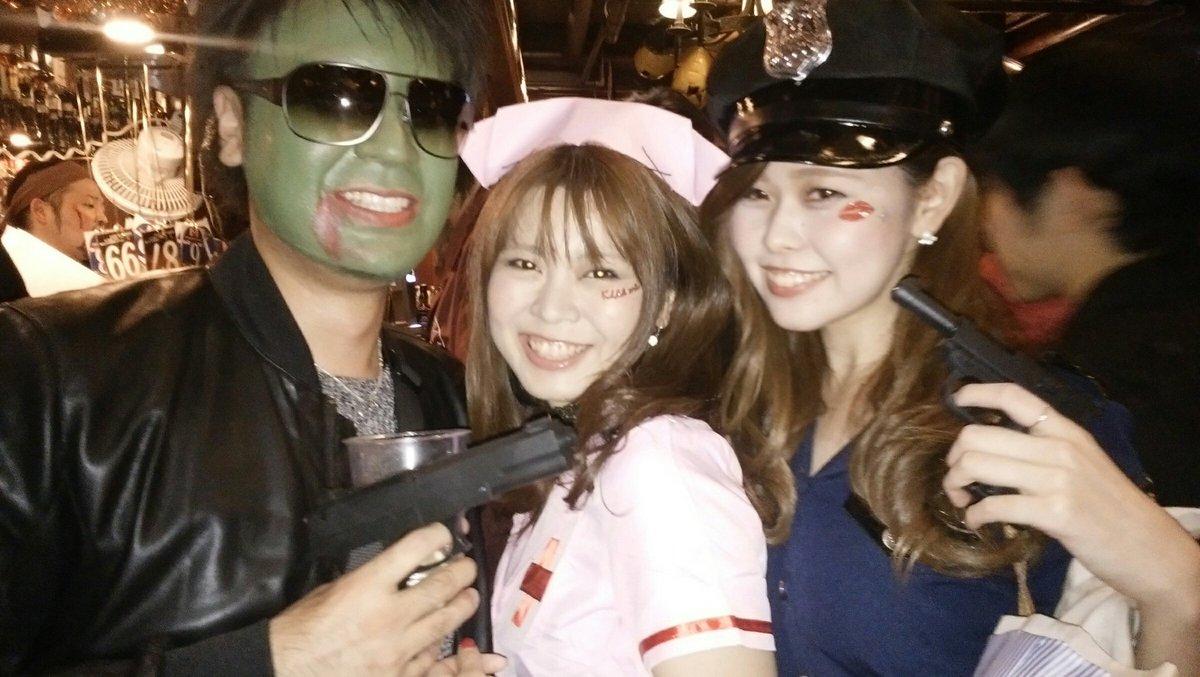 オフパコしたい渋谷の過激露出エロコスハロウィンエロ画像2枚目