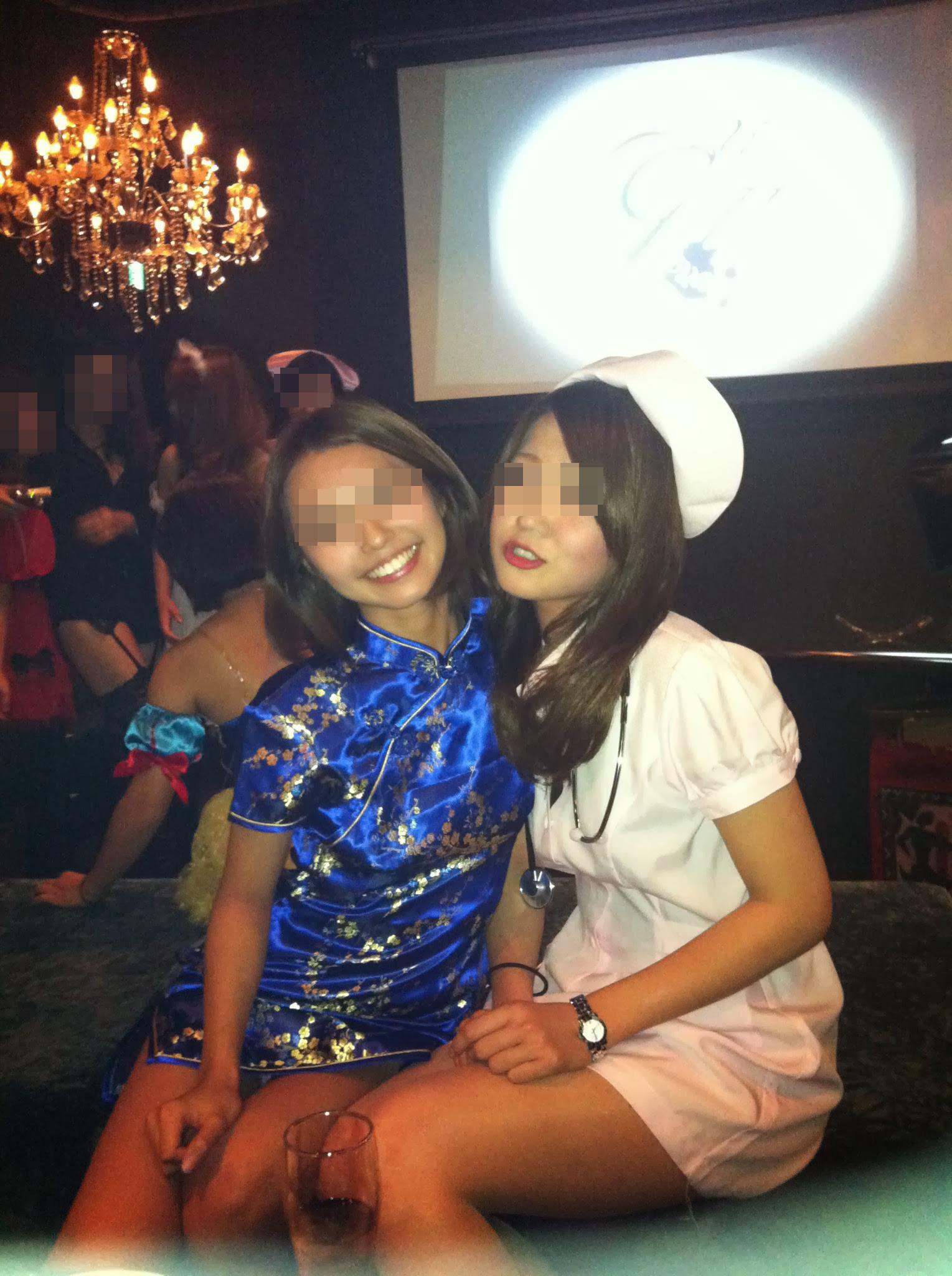 女子大生がクラブで泥酔のヤリマン下着盗撮エロ画像2枚目