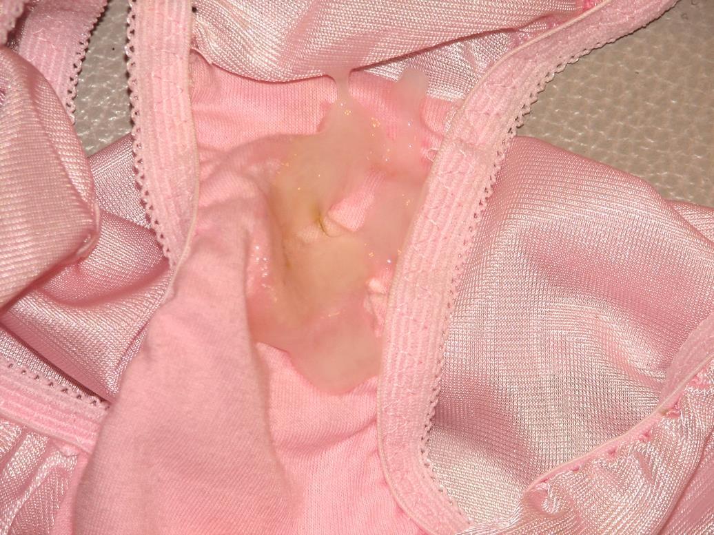 jc妹の下着でパンコキオナニー射精したエロい画像12枚目