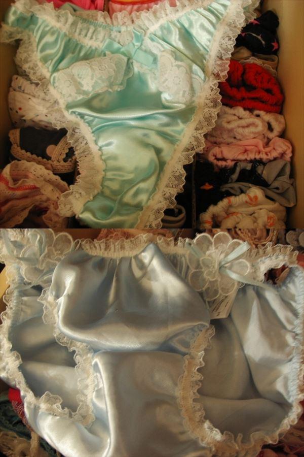 洗濯前の汚れたクロッチがエロいjkしまパンツ画像13枚目