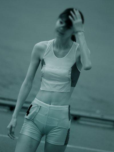 陸上選手赤外線盗撮 女子陸上スレンダー選手の赤外線まん筋盗撮エロ画像|エロの境界線