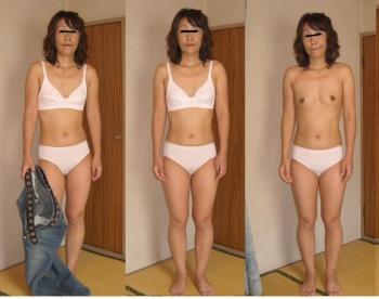 熟女がたるんだ身体で不倫している下着エロ画像4枚目