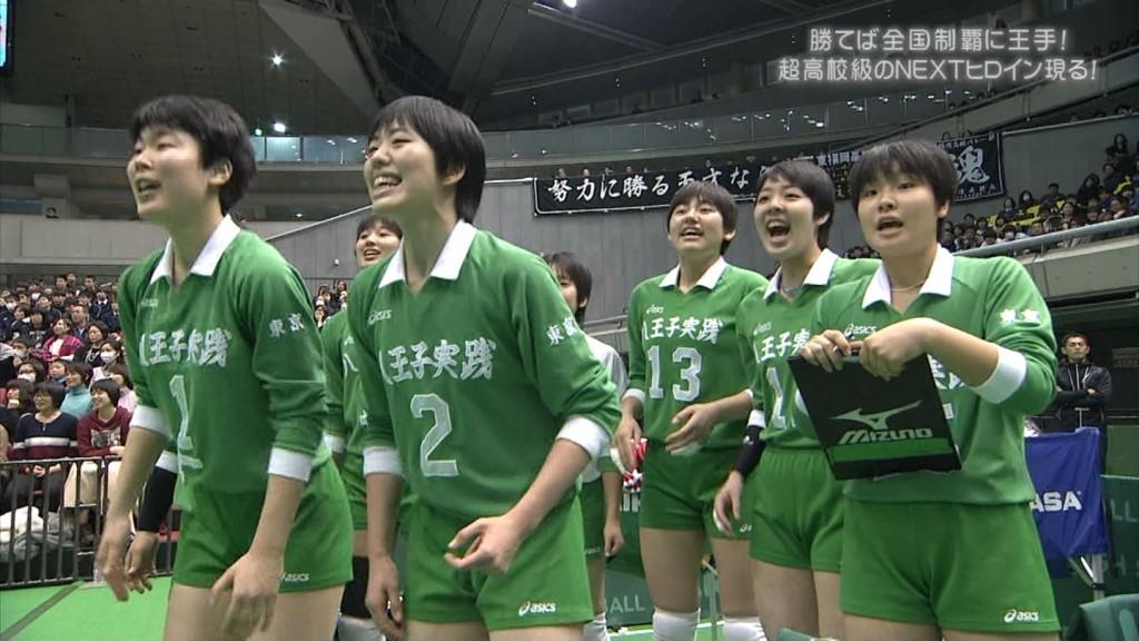 バレーボールの女子選手春高まん筋盗撮エロ画像6枚目