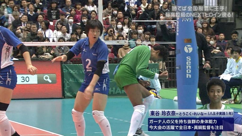バレーボールの女子選手春高まん筋盗撮エロ画像9枚目