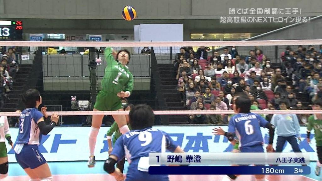 バレーボールの女子選手春高まん筋盗撮エロ画像10枚目