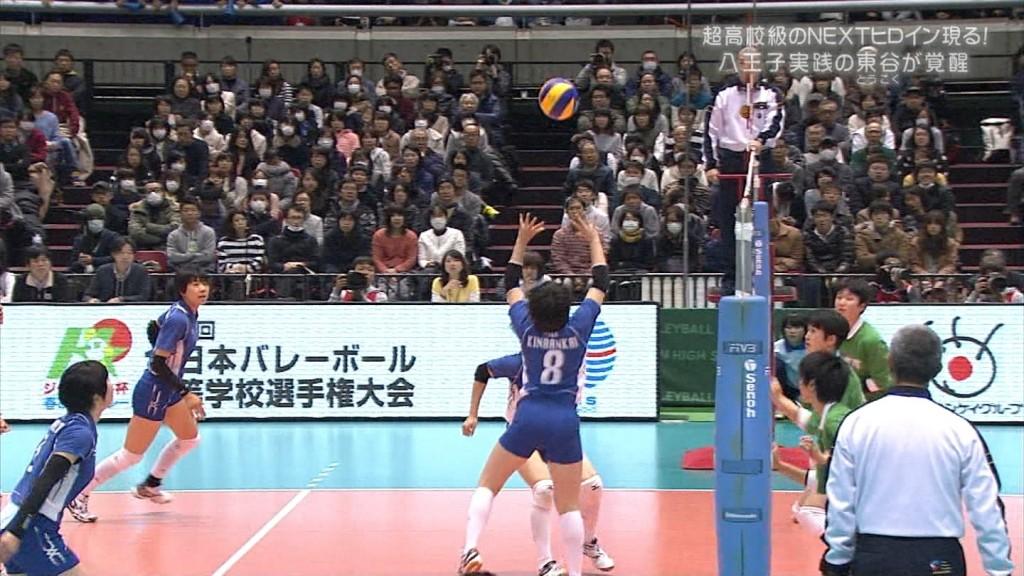 バレーボールの女子選手春高まん筋盗撮エロ画像15枚目