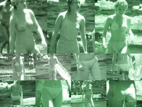 美女がカーニバルで赤外線盗撮された巨乳エロ画像6枚目