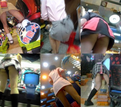 パチンコ店員の制服がメイド服の過剰サービスエロ画像4枚目