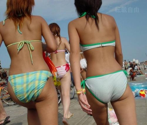 女子大生のインスタ映えしそうな透け水着のエロ画像16枚目