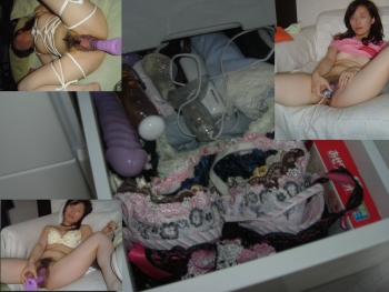 弟の性処理肉便器になる姉のタンスの中の下着エロ画像