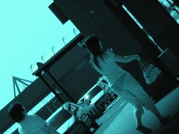 可愛いjkの仲良しプール赤外線透けまん毛の盗撮エロ画像16枚目