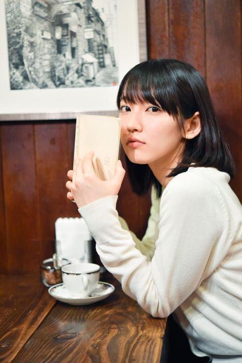 口内射精フェラでごっくんする吉岡里帆のお宝エロ画像6枚目