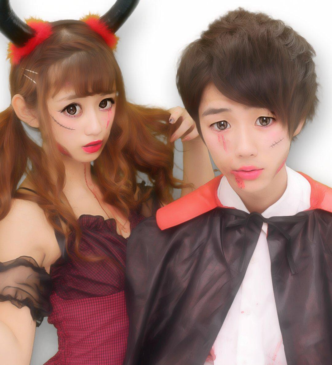 ハロウィン渋谷でオフパコするエロコスプレ少女エロ画像4枚目