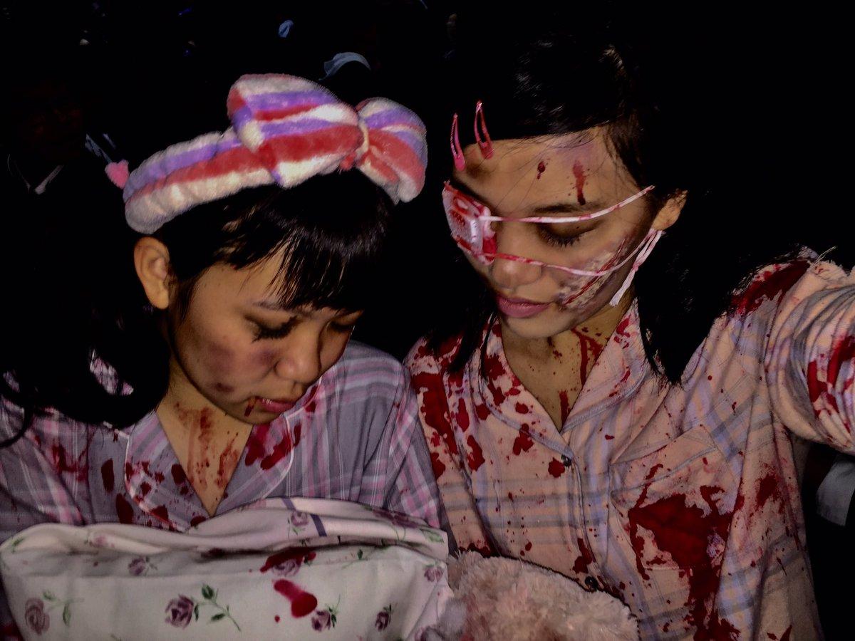 ハロウィン渋谷でオフパコするエロコスプレ少女エロ画像13枚目