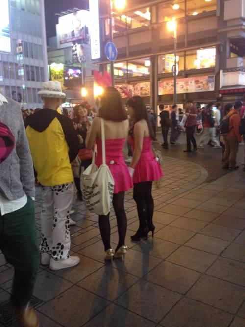 渋谷でオフパコ相手を捜すハロウィンエロコスプレエロ画像13枚目