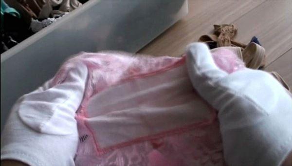 jc妹のタンスによくあるチョコミント色の下着画像3枚目