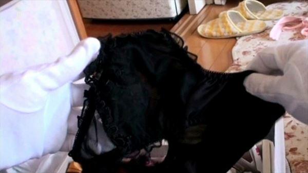 jc妹のタンスによくあるチョコミント色の下着画像4枚目