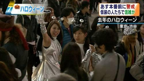 これが渋谷パリピのハロウィンのエロコスプレ画像5枚目