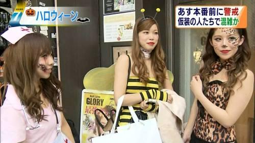 これが渋谷パリピのハロウィンのエロコスプレ画像6枚目