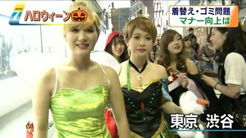 これが渋谷パリピのハロウィンのエロコスプレ画像8枚目