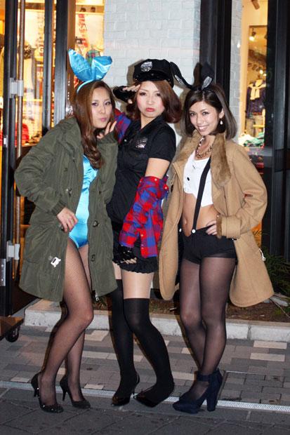 渋谷のハロウィンは中出し射精も全然OKなエロ画像8枚目