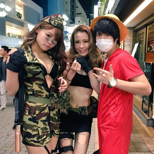 渋谷のハロウィンは中出し射精も全然OKなエロ画像13枚目