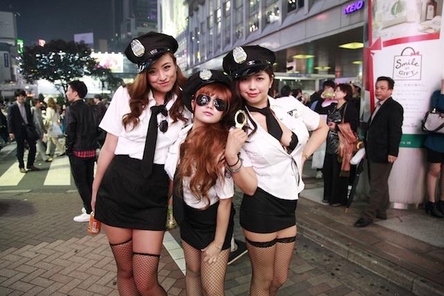 渋谷のハロウィンお持ち帰りエロコスプレエロ画像8枚目
