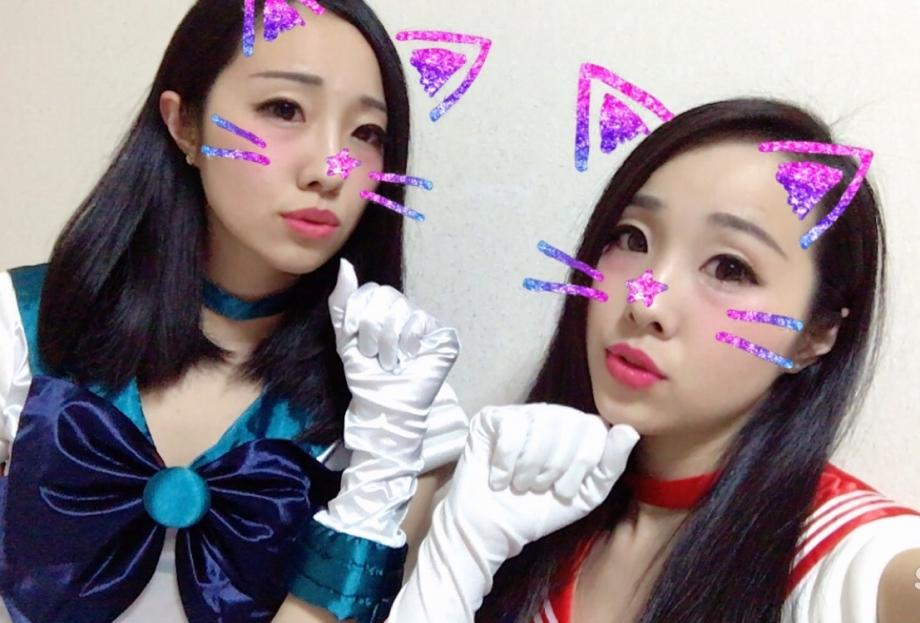 ナンパ待ちする2017渋谷ハロウィンのエロコス画像3枚目