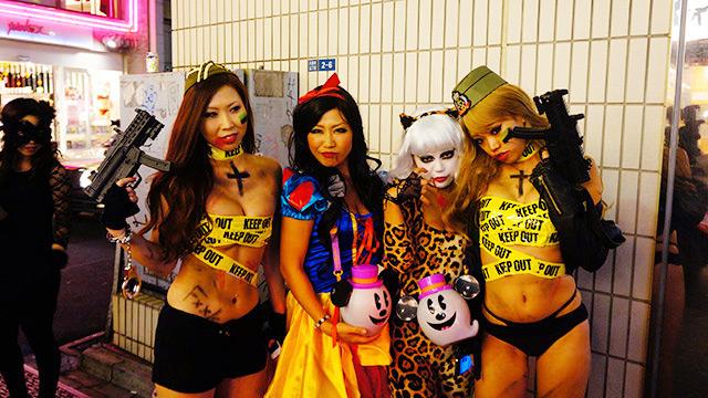 性病に感染すると言われてる渋谷のハロウィンエロ画像2枚目